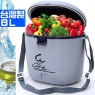 P062-08 8公升冰桶.8L冰桶行動冰箱攜帶式冰桶釣魚冰桶.保冰桶冰筒保冷桶保冰箱保冷箱【台灣製造】