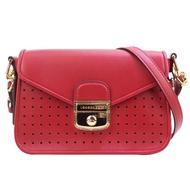 Longchamp MADEMOISELLE 兩用荷篷包(S/石榴紅)