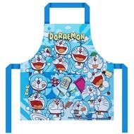 X射線【150002】哆啦A夢Doraemon 兒童圍裙100cm,廚房圍裙/圍裙/廚師圍裙/兒童圍裙/防護服/半身圍裙/工作圍裙