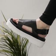 FINDSENSE H1 2018 歐美 男 新款 高品質 真皮 厚底增高 沙灘鞋 休閒鞋 羅馬涼鞋 休閒潮男 涼鞋