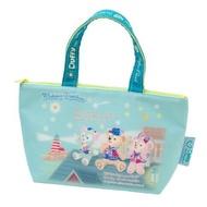 (全新)日本東京海洋迪士尼15週年 disney sea 15th限量達菲雪莉玫畫家貓便當袋/手提袋/保溫袋:保冷袋
