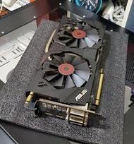 二手良品 華碩 ASUS 梟鷹 極靜音系列 STRIX GTX970 4G 4GB 可參考 GTX1060 RX580