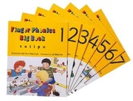 Finger Phonic Big Books Set 1-7  (Jolly phonics)
