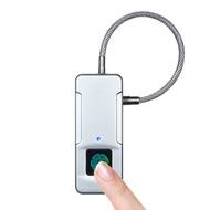 online Fingerprint Door Lock Anti-Theft Smart Fingerprint Lock Security Padlock Door Luggage Case Ga