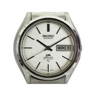 [專業模型] 機械錶 [SEIKO LM222260] 精工LM錶[25石][銀色面+星期+日期]不銹鋼/時尚/中性/軍