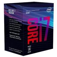 INTEL Core i7-8700K/3.7GHz/六核/LGA1151公司貨