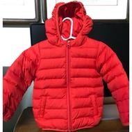 mamaway-12M(80公分)紅色羽絨外套,免運