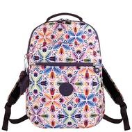 KIPLING 花卉圖樣後背包-大型/彩色