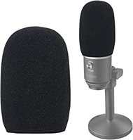 YOUSHARES Foam Microphone Windscreen - Wind Cover Mic Pop Filter Compatible with FIFINE USB Microphone (K670) for Recording, Podcasting