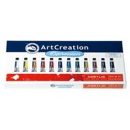 Art Creation Expression 9011712M 壓克力顏料 12色入 / 盒