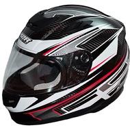 M2R XR3 XR-3 碳纖維 全罩安全帽 黑紅彩繪版 CARBON 全罩安全帽 卡夢 全可拆《裕翔》