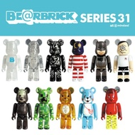 (ZYEON) Bearbrick Series 31 100% BE@RBRICK collectibles