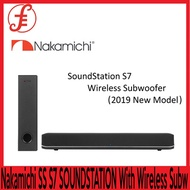 Nakamichi SOUNDBAR SS S7 SOUNDSTATION S7 With Wireless Subwoofer