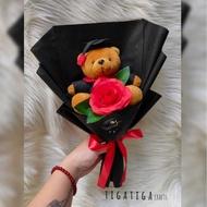 buket wisuda cowok | buket boneka | buket bunga | kado wisuda