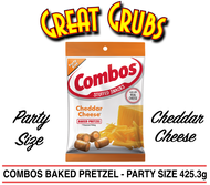 Combos Cheddar Cheese Pretzel - Party Size 425.3g