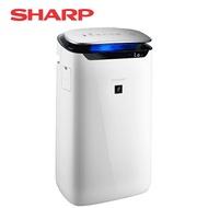 【夜間神秘搶購】[SHARP 夏普]15坪自動除菌離子空氣清淨機 FP-J60T-W