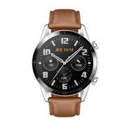 【贈原廠二合一線+自拍桿+臂帶+鋼保】HUAWEI Watch GT2 時尚版 46mm (砂礫棕) 盒內再附贈錶帶