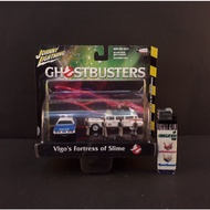 Latest GHOSTBUSTERS Vigo 's Fortress of Slime scale 1: 64 by JOHNNY LIGHTNING Low Price