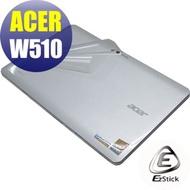 EZstick ACER ICONIA W510 系列專用 二代透氣機身保護膜(平板機身貼)(DIY包膜)
