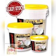 Random Brand Wall Putty Filler _cement 0.5kg/1.5kg/5kg ready stock