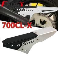 Motorcycle Accessories CNC Aluminum Chain Cover Rear Chain Belt Guard Modified Parts For CFMOTO CLX700 CLX 700 700CLX