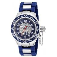 INVICTA英威塔 銀藍機械手錶(IN17246)