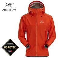 【ARCTERYX 始祖鳥 加拿大】Beta SL Hybrid 透氣防水外套 防水夾克 風雨衣 GORE-TEX 男款 光速橘 (L07345700)