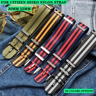 Waterproof Nylon Watch Strap with Scratchy Hands General Spectre Citizen Seiko Canned Watch Strap