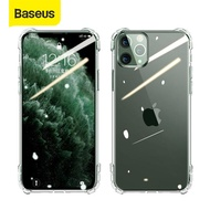 Baseus Transparent Soft Silicone Case For iPhone 11 2019 Case Cover on iPhone 11 Pro Max Shockproof Case For iPhone 11 Max 2019