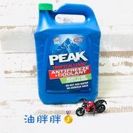 油胖胖🥇 1瓶300元 PEAK 公司貨 17% 水箱精 PEAK COOLANT 水箱冷卻液