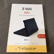 Zagg folio ellipsis 8  平板鍵盤殼
