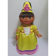 2003 Mattel 愛探險的朵拉 Dora聲光娃娃(會講話/神奇頭髮)