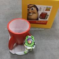 日本帶回 玩具總動員 巴斯光年 火箭 置物桶 筆筒 眼鏡筒 擺飾