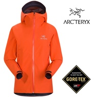 【ARCTERYX 始祖鳥 加拿大】ZETA SL 防水外套 GORE-TEX 歡樂橘 女款 (L07132300)