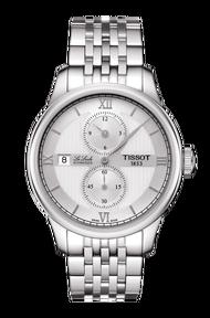 TISSOT 天梭 T0064281103802 Le Locle 力洛克雅仕機械手錶 銀 40mm