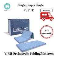 Super Foam Foldable Orthopedic Mattress –  4″