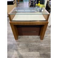 吉田二手傢俱❤木紋玻璃展示櫃玻璃展示櫃台手錶櫃精品櫃飾品櫃珠寶櫃3C櫃手機櫃