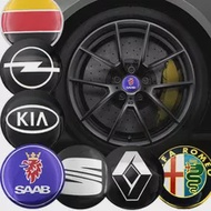 4Pcs 56Mm ศูนย์ล้อรถ Hub Hub หมวกสติกเกอร์สำหรับ BMW E36 E46 E39 E53 E90 E60 E61 E93 e87 X1 X3 X5 X6 M F30 F20 F10 F15 Auto Gadget