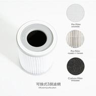 [富廉網]【Probox】空氣清淨機三效抗菌濾網