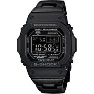 【CASIO 卡西歐】G-SHOCK 太陽能電波手錶(GW-M5610BC-1)