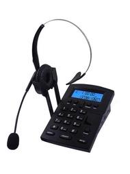 客服耳機 EG809 客服電話機耳機固話座機電銷話務員專用耳麥頭戴式話務機