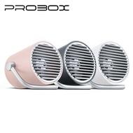 [富廉網] 【PROBOX】H01 迷你USB涼風扇 粉紅/黑/白