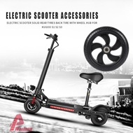 Wodღ Electric Scooter Solid Rear Wheel Back Tire w/Wheel Hub for Kugoo S1 S2 S3