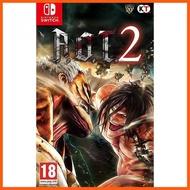 🎉🎉SALE🎉🎉 Attack on Titan 2 ( ภาษา English ) ##แผ่นเกมส์ เกมส์ เครื่องเกมส์ เกมเพลย์ เกมส์บอย xbox nintendo ps4 ps2 อุปกรณ์เกมมิ่ง อุปกรณ์เกมส์ pubg Game