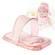 Foldable Infant Baby Mosquito Net Travel Cot Tent Mattress Cradle Bed  Pillow Outdoor Canopy Carrier