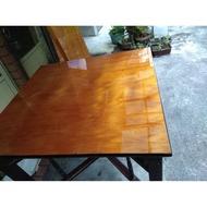 早期台灣肖楠木桌一片板(97x92.5x3高:88cm)
