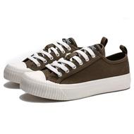 【KANGOL】帆布 餅乾鞋 橄欖綠 休閒 女(6952200173)