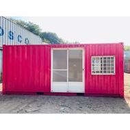 20呎貨櫃屋套房:含衞浴