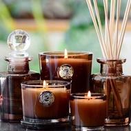 美國進口AQUIESSE香薰蠟燭 天然室內精油香氛助眠無煙小玻璃杯蠟