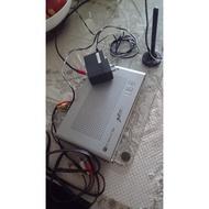 大通數位電視接收機 附變壓器 AV線 天線